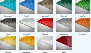 Сотовый поликарбонат - технические характеристики и свойства