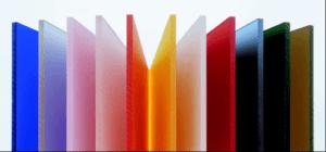 Виды оргстекла: матовое, прозрачное или цветное