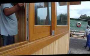 Раздвижные окна из поликарбоната