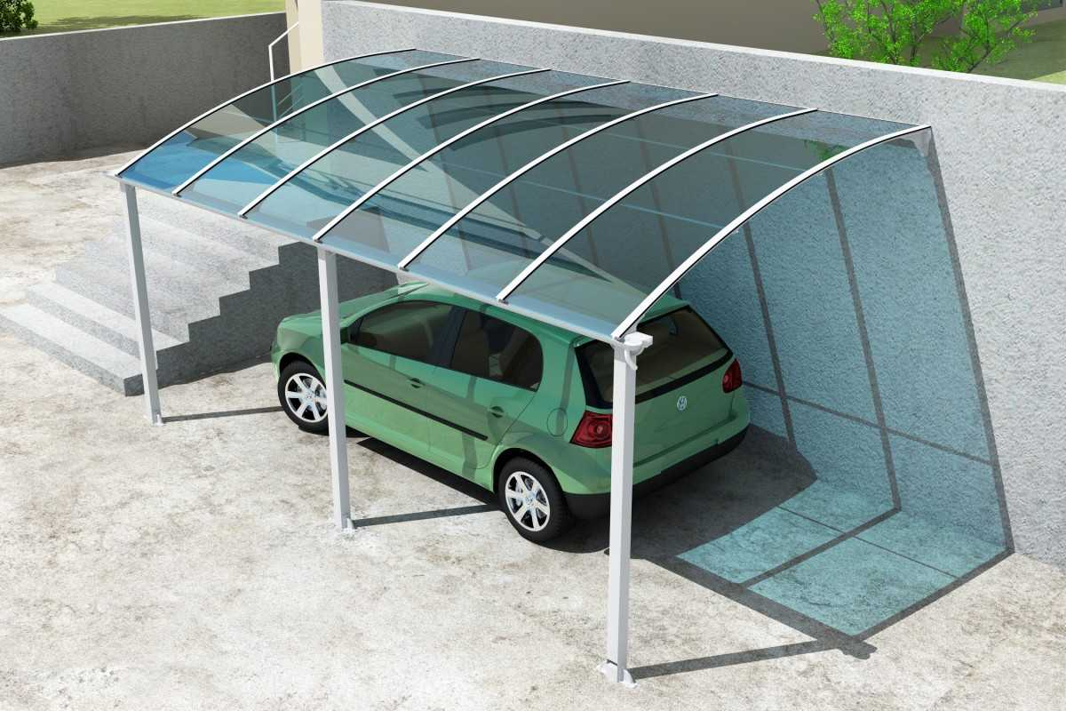 гараж из поликарбоната