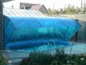 Как сделать бассейн из поликарбоната своими руками