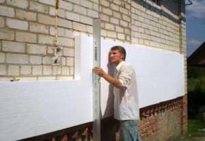 Утепление стен полистиролом. Методы, инструкции.