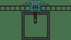 Соединительная планка для поликарбоната